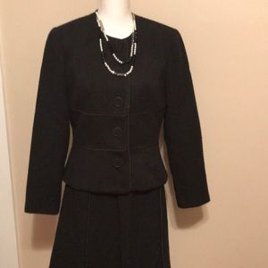 EUC Talbots skirt suit